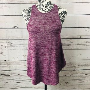 Aritzia Wilfred Free Mulberry Heathered Tank Top S